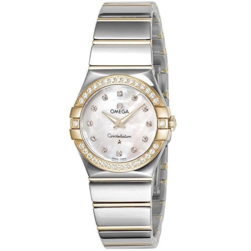 [オメガ] 腕時計 コンステレーション 123.25.27.60.55.007 レディース シルバー [並行輸入品]
