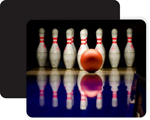 Mausmatte,Gaming Mauspad,Mausunterlage,Spiel Maus Pad,Bowlingkugel Und Bowlingkugeln Super Strike Mat Mäuse Mousepad Für Office Home Laptop Computer Pc