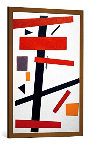 kunst für alle Bild mit Bilder-Rahmen: Kasimir Sewerinowitsch Malewitsch Suprematismus Nr 50