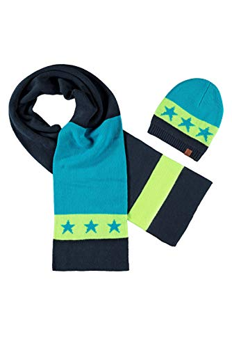 B.Nosy jongens winterset muts sjaal Ink Blue Y907-6901-109 Gr.122-152