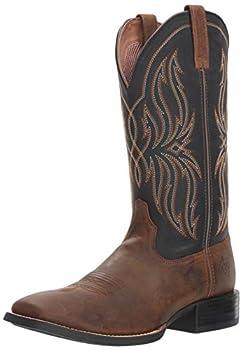 Ariat Men s Sport Rustler Western Boot Brute Brown 10.5