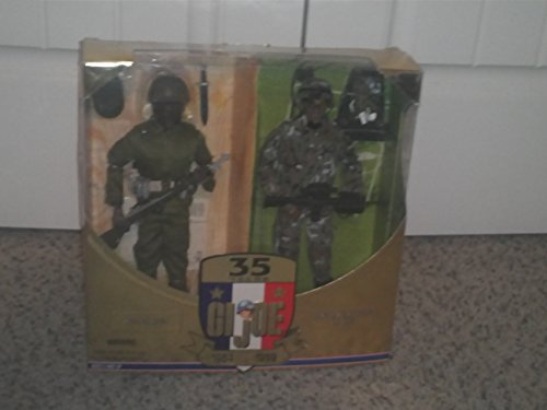 Land Warrior Black African American Gi Joe 1964-1999 35th Anniversary 12 Inch...