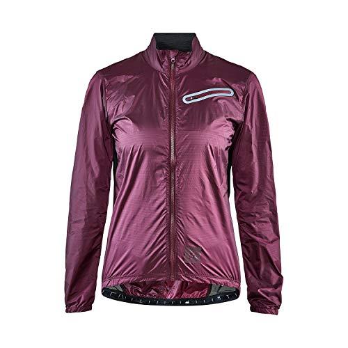 Craft Damen Sportswear Hale XT wasserabweisende Fahrradjacke - Grau - X-Large