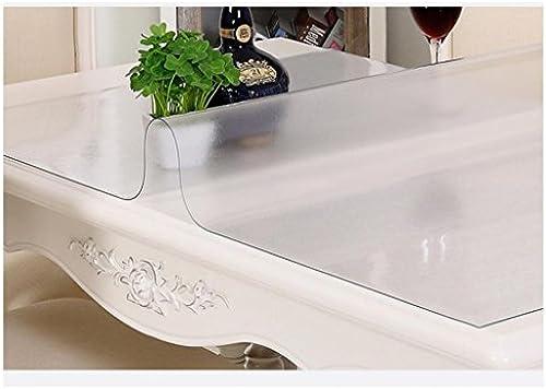 Küchenwäsche Weiße Glas-TranSpaßenz PVC-Tischtuch, wasserdicht und ölBesteändig Wischen sauber