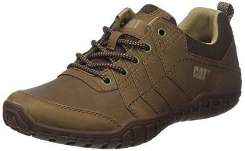 Cat Footwear Instruct, Zapatillas Hombre, Beige (Mens Dark Beige Mens Dark Beige), 42 Eu