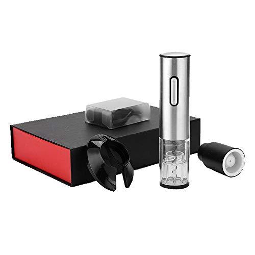 WXLAA Apribottiglie Cavatappi Elettrico Automatico Per Vino Ricaricabile Con Cavo USB Professionale Set Con Taglierina