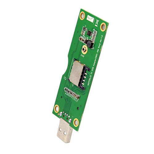 JSER M.2 NGFF Wireless WWAN a USB Scheda adattatore con slot per scheda SIM Strumenti di prova
