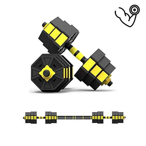 Hantelset Hanteln 2er Set Kunststoff Kurzhantel | Gewicht Zur Auswahl | Hexagon Hantel Für Krafttraining, Gymnastik Und Fitness,Apair-40 Kg