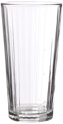 Libbey Glassware 15647 Casual Cooler Lines Duratuff Glass, 20 oz. (Pack of 12)