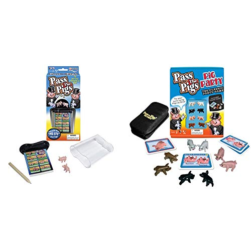 Winning Moves Games Pass The Pigs amp Pass The Pigs Party Edition Colors May Vary