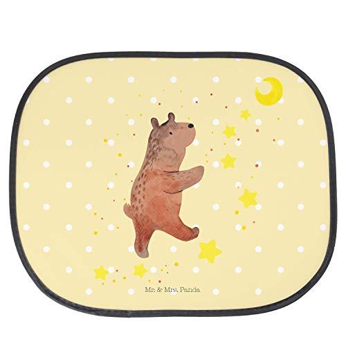 Mr. & Mrs. Panda Fenster, Kinder, Auto Sonnenschutz Bär Träume - Farbe Gelb Pastell