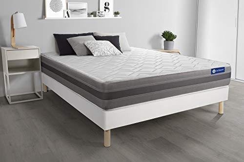 Set rete da letto + Materasso Actilatex relax 180x220cm
