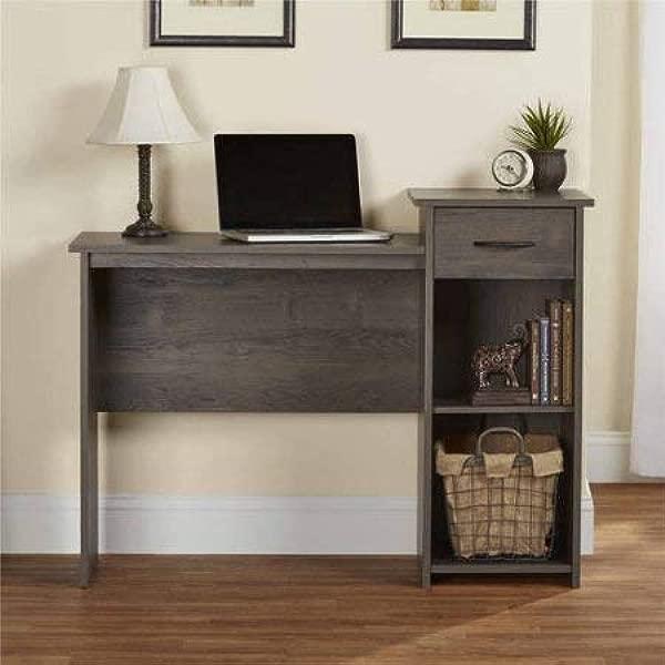 Adjustable Storage Shelf Student Office Home Desk In Rodeo Oak