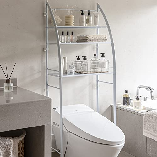 Fit Right 3-Shelf Bathroom Organizer Over The Toilet...