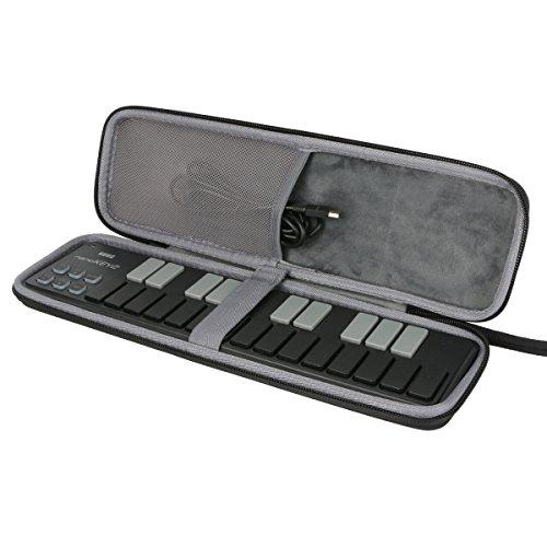 para Korg Nano Slim Line MIDI Keyboard/DJ Drum Pad/USB Controlador Afinador Almacenamiento Viajar que Lleva Caja Bolsa Fundas fits nanoKEY2 nanoPAD2 nanoKONTROL2 de CO2CRERA