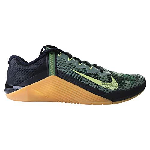 Nike Herren Metcon 6 Straßen-Laufschuh, Black/Limelight-Lime, 43 EU