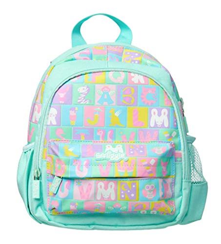 Smiggle Teeny Tiny My First Backpack (Magic Minty Green ABC)