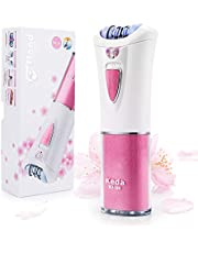 Depiladora para depilación de larga duración, depilación facial para mujeres con luz LED, depiladora inalámbrica con cabezal de masaje para depilación suave
