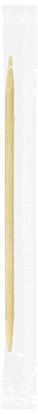 Royal Plain Individual Cello Wrapped Toothpicks, Package of 1000