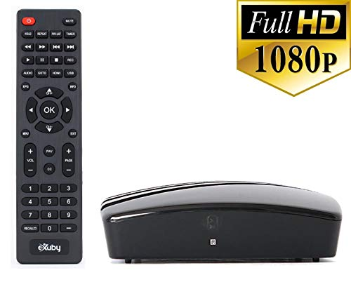 %40 OFF! WHY Pay for Cable? Use This Amazing eXuby Digital Converter Box for TV to View & Record HD ...