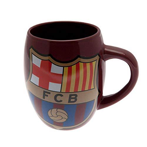 FCB FC Barcelona - Taza oficial (Talla Única/Burdeos)
