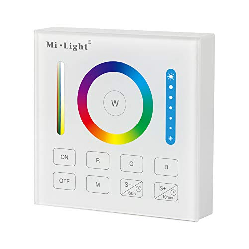 LIGHTEU®, RGBCCT smart panel afstandsbediening B0 compatibel met milight RGBW/RGBCCT lampen downlights schijnwerpers strip controllers