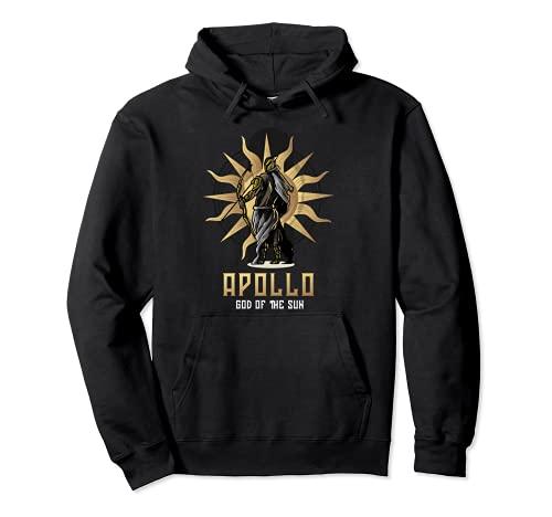 Dioses de Olimpiada o Apolo Dios del Sol o Dios Griego Antiguo Sudadera con Capucha