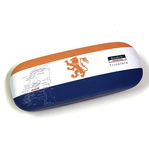 Bandiera(バンディエラ) メガネケース オランダ 12732 眼鏡 めがね サングラス Glass case オランダ国旗 Netherlands