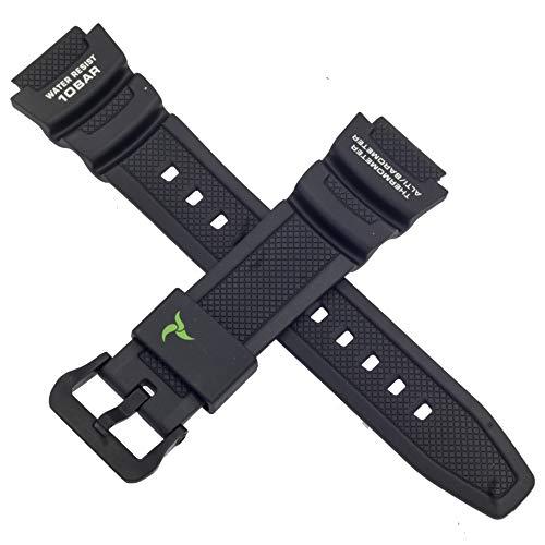 Cinturino originale Casio per orologio SGW-450H-1A SGW 450H 450 nero 10500870