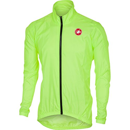castelli Squadra ER Wind Jacket Yellow Fluo 2018 (L)