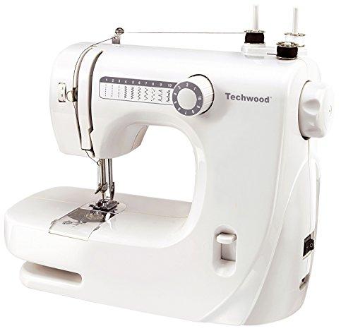 TECHWOOD TMAC-608 - Máquina de Coser, Color Blanco