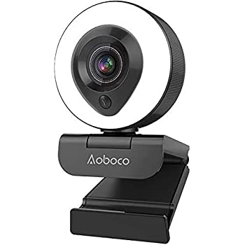 AOBOCO Webcam for Streaming