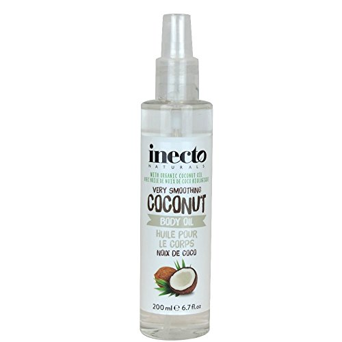 Inecto Naturals Body Oil Coconut, 1er Pack (1 x 200 ml)