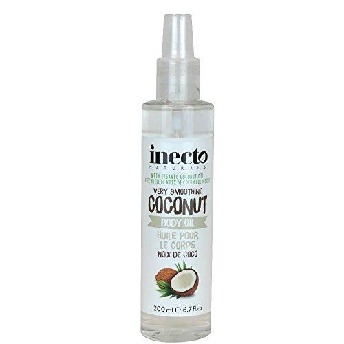 Inecto Naturals Huile Corporelle Coconut 200 ml