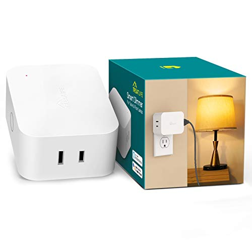 Dimmable Smart Plug, Treatlife Smart Dimmer Plug for Dimmable Lamps, Smart Home Devices That Works with Alexa, Google Assistant and SmartThings, Sunrise Simulation, Sleep Aid