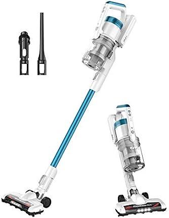 Eureka RapidClean Pro Aspirador inalámbrico ligero, potente motor digital de alta eficiencia, luces LED delanteras, práctica aspiradora de uso con palo y de mano