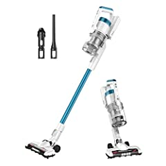 Efficient Cordless Cleaning: Powered by the latest motor technology the Rapid Clean makes cleaning convenient and thorough 40 Minutes Long Lasting Runtime: Up to 40 min of fade-free runtime. Easily switch to MAX power on fingertip controls to increas...