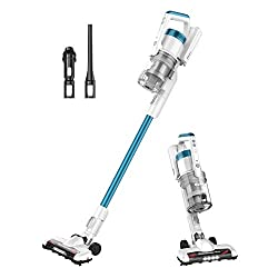 messy house: cordless vacuum