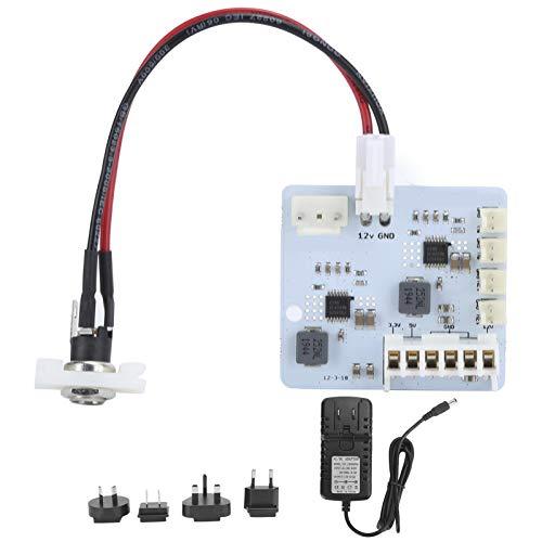 Kit de Repuesto de Fuente de alimentación, Kit de Adaptador de Corriente de 12 V, Versiones Rev2.0 para máquina de Juego Sega Dreamcast 100-240 V, Compatible con GDEMU USB-gdrom
