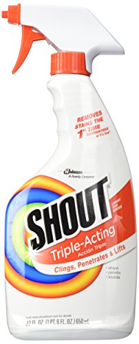 Shout Laundry Stain Remover Trigger Spray, 22 Fl Oz
