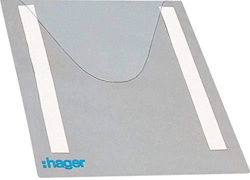 Hager -Flexible, quadratische Plantasche für den Schrank