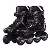 Sljj Inline Skates Adults Professional High Performance Inline-Skates for Women and Men Roller Skates with High Elasticity and Wear Resistance PU Wheel for Outdoor and Indoor