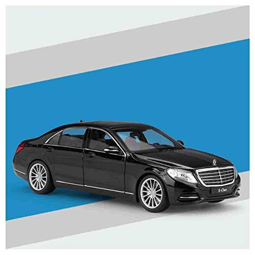 Mercedes S-Klasse Pull Back Druckguss Auto 1:24 Legierung Spielzeug Türen und Haube Bewegliche Fahrzeug Geeignet...