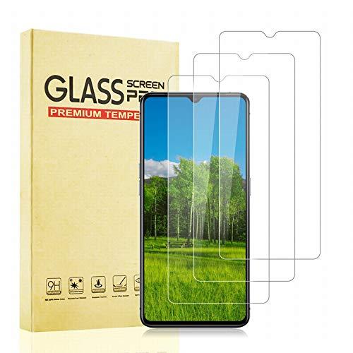 BOBI Cristal Templado para Realme X2 Pro, [3 Piezas] [Dureza 9H] [Sin Burbujas] [Alta Transparencia] Protector de Pantalla para Realme X2 Pro