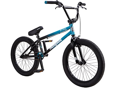 Mongoose Ritual 500 Kids/Youth BMX Bike, 20-Inch Wheels, Caliper Brakes, Blue