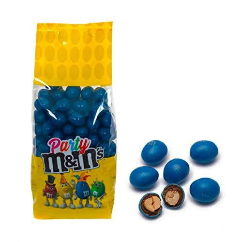 M&M's colorati da 500gr M&M's Party Cioccolato Arachidi Feste Party (BLU)