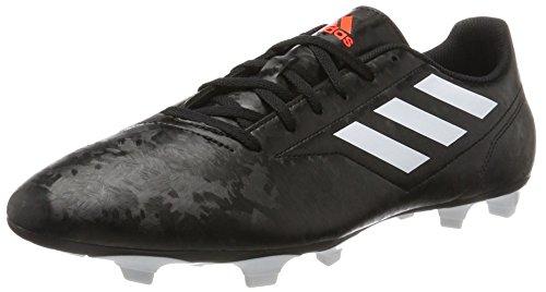 adidas Conquisto II Fg, Scarpe da Calcio Uomo, Nero (Cblack/Ftwwht/Solred 000), 39 1/3 EU
