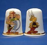 Birchcroft Porcelana Coleccionable Dedal - Par de Astérix & Obelix