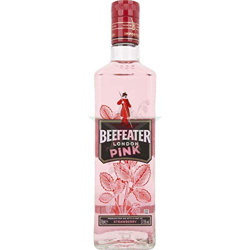 Beefeater London PINK Strawberry Dry Gin 37,50% 0,70 lt.