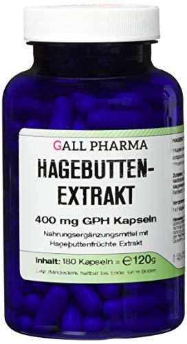Gall Pharma Hagebuttenextrakt 400 mg GPH Kapseln , 1er Pack (1 x 180 Stück)